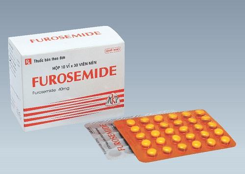Những bất lợi khi sử dụng thuốc furosemid
