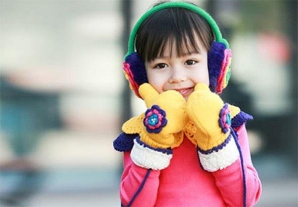 Luôn giữ ấm cơ thể cho trẻ