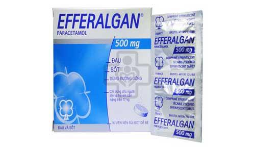 Tác dụng của thuốc Efferalgan 500mg