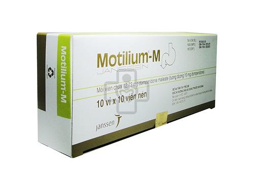 Tác dụng phụ khi dùng thuốc Motilium®