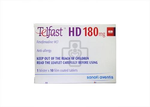 Tác dụng phụ khi dùng thuốc Telfast®