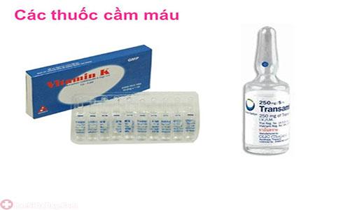 Những loại thuốc cầm máu phổ biến hiện nay