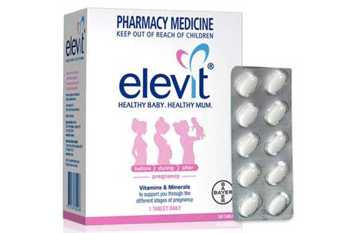 Tìm hiểu tác dụng của thuốc Elevit