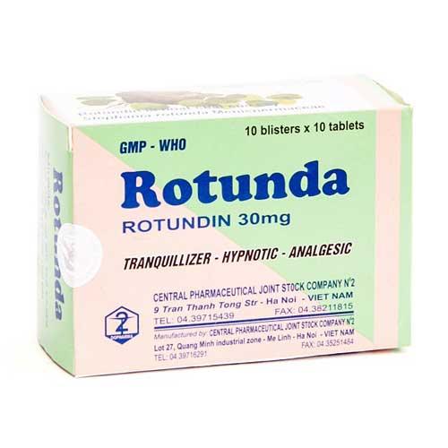 Tìm hiểu tác dụng của thuốc Rotunda