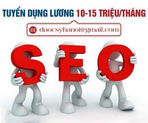 Cần tuyển dụng 2 nhân viên Seo Marketing Online làm việc tại Hà Nội