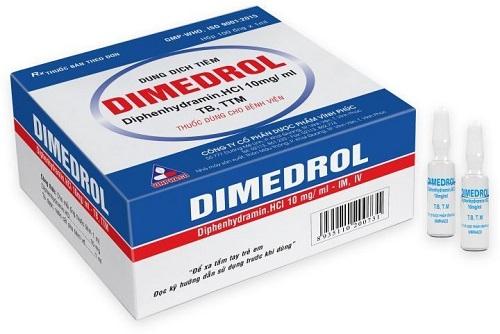 Công dụng của thuốcDimedrol